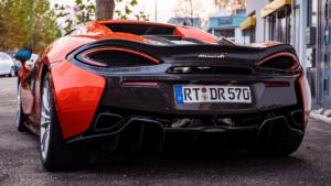 McLaren 570S - Heck