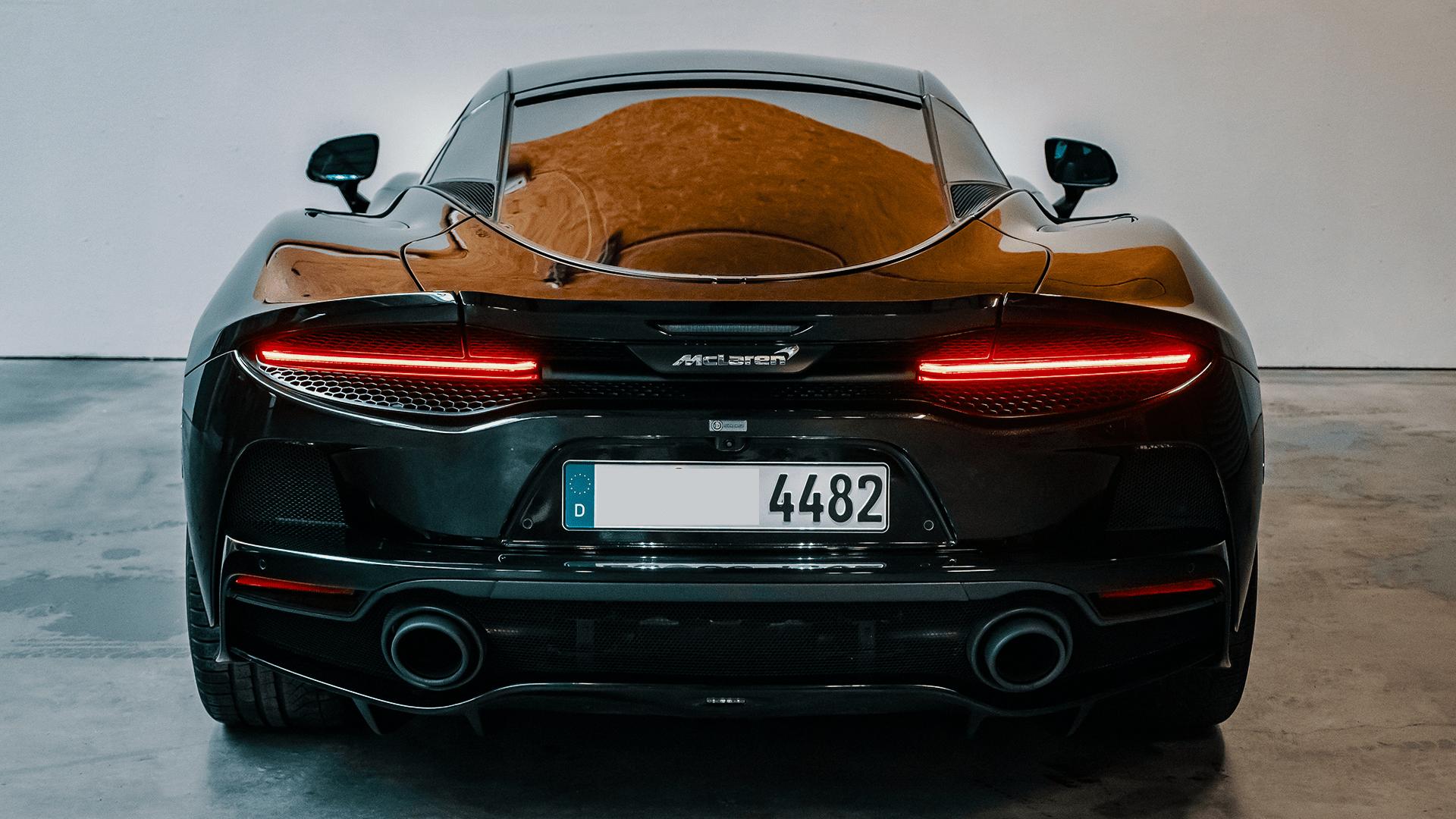 McLaren GT - Rückseite